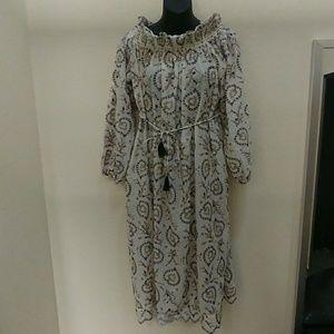 Zimmermann Cotton Embroidered Dress. Size 1